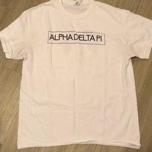 alpha delta pi tee